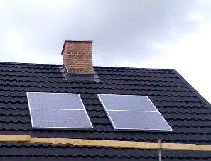 Nettilsluttet solcelleanlæg
