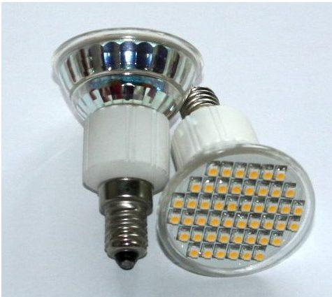 Led pære 48 LED 12V E14