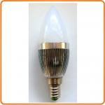 LED Pære 12V/5W, varm/hvid