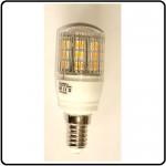 LED pære 12V/24V 3,0W E14 3000K/280lm