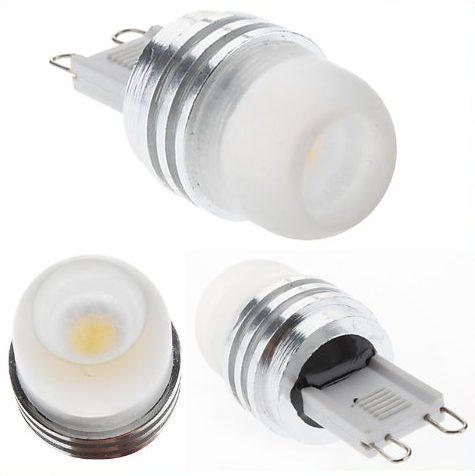 LEDpære G9, 1-2W/12V - Varm/Hvid