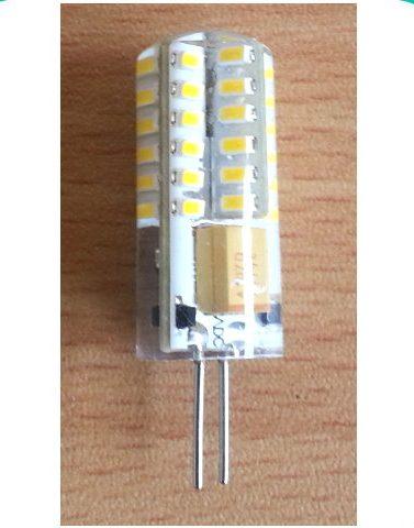 48 SMD indkapslet LED MR11 pære, 12V - Varm/Hvid