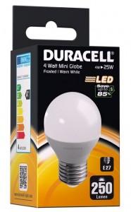 LED pære Duracell -M20 230V/4W, 250Lumen, E27 -ikke dæmpbar