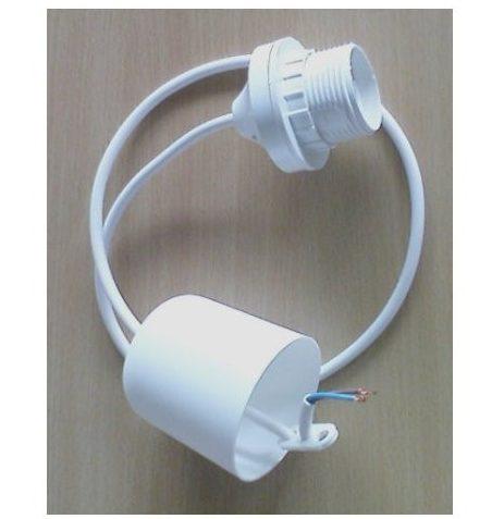 E27 lampefatning med Kabel