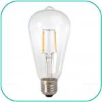 Retro 230V/4W Edison LED Pære E27 fatning varm/hvid