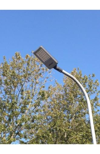 Gadelampe med LED, 30W,