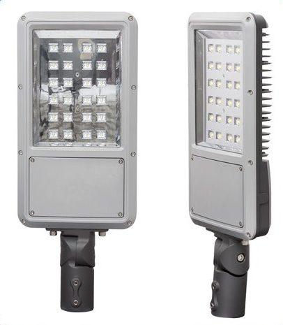 Gadelampe med LED, 30W, 240V, 4200K, IP66