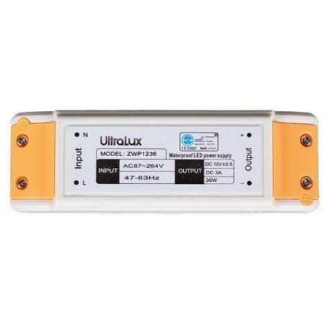 LED-strømforsyning 36W/ 12V DC