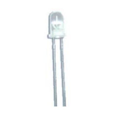 LED Superbright 5mm Hvid