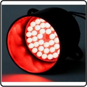 RØD LED lampe 12 V/DC