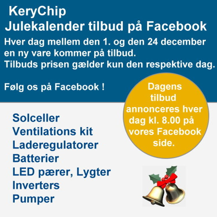 Julekalender tilbud på Facebook