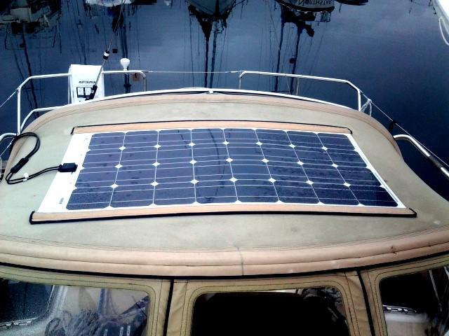 Solceller til båd, campingvogn